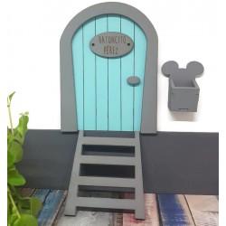 Puerta Ratón Pérez azul