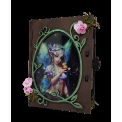 Caja libro decorativa,...