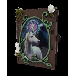 Caja unicornio decorativa,...