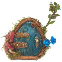 Puerta Ratón Perez azul