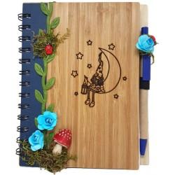 Cuaderno Duende en la luna